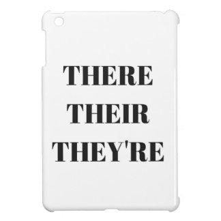 All The There Grammar Humor Text Illustration iPad Mini Case