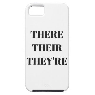 All The There Grammar Humor Text Illustration iPhone SE/5/5s Case