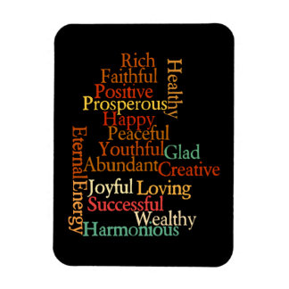 All the things you are positive affirmations magnet