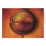 All the Time in the World Steampunk Clock Globe Cards