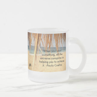 All The Universe Conspires Frosted Mug