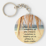 All The Universe Conspires Keychain