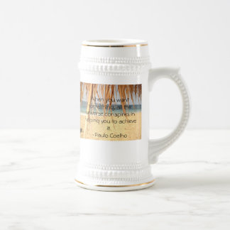 All The Universe Conspires Stein Mug