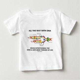 All The Way With DNA Intertwining Sense Anti-Sense Baby T-Shirt