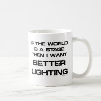 All the world is a stage coffee mug