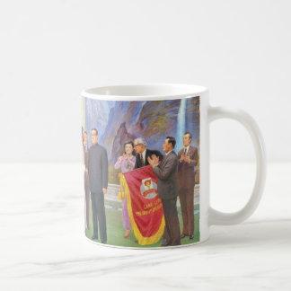 All The World Loves the Dear Leader Coffee Mug