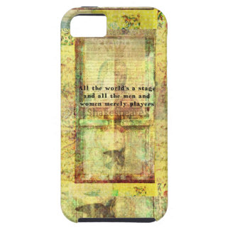 All the world's a stage and all the men and....... iPhone 5 cases