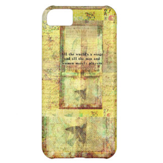 All the world's a stage and all the men and....... case for iPhone 5C
