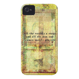 All the world's a stage and all the men and....... Case-Mate iPhone 4 case