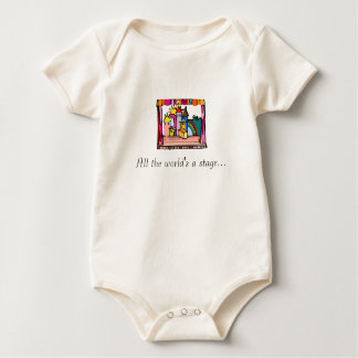 All the World's a Stage Baby Bodysuit