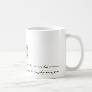 All the world's a stage classic white coffee mug