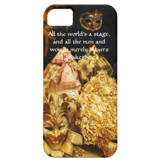 All the world's a stage Shakespeare quote iPhone 5 Case