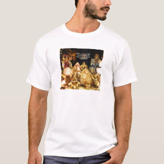 All the world's a stage Shakespeare quote T-Shirt