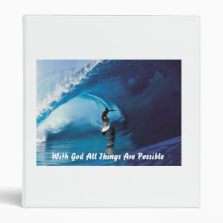 All Things Are Possible 3 Ring Binder
