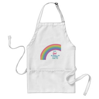 All Things are Possible Adult Apron