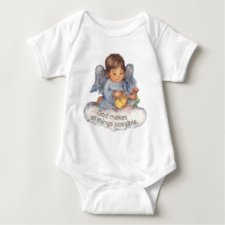 all things are possible baby bodysuit