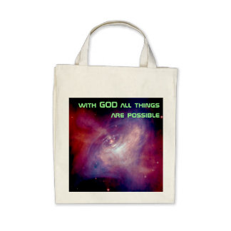 all things are possible bag