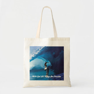 All Things Are Possible Canvas Bags