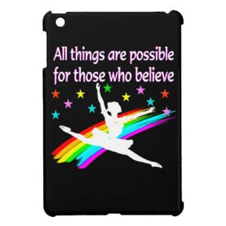 ALL THINGS ARE POSSIBLE DANCER DESIGN CASE FOR THE iPad MINI