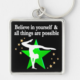 ALL THINGS ARE POSSIBLE GYMNASTICS DESIGN KEYCHAIN