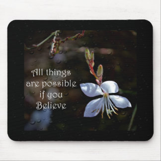 All things are Possible Mouse Pad