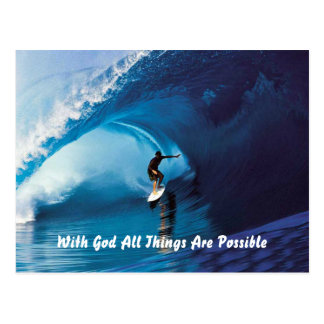 All Things Are Possible Postcard