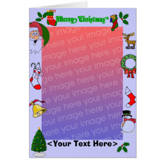 All Things Christmas, Holiday Template Card