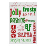 all things christmas posters