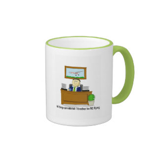 All things considered-I'd rather be RC flying Ringer Coffee Mug