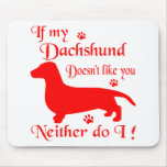 ALL THINGS DACHSHUND MOUSE PAD