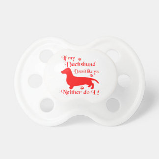 ALL THINGS DACHSHUND PACIFIER