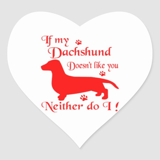 ALL THINGS DACHSHUND STICKERS