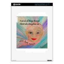 All Things Even Cancer iPad 3 Decal