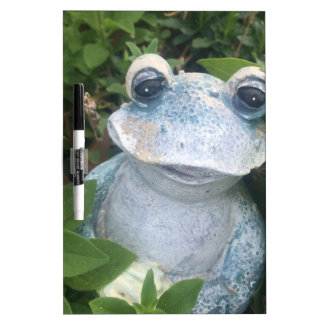 All Things Froggy Dry Erase Board