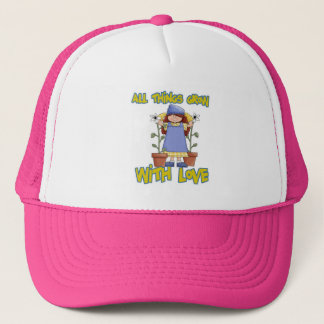 All Things Grow With Love Trucker Hat