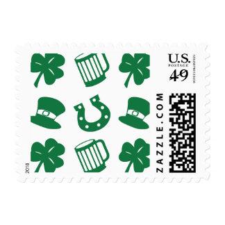 all things irish, pattern postage
