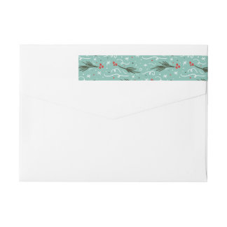 All Things Merry and Bright Return Address Label