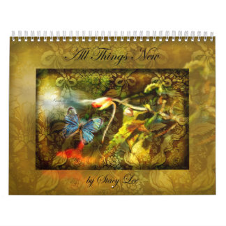 """All Things New"" Christian Scripture Art Calendar"