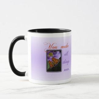 All Things New Mug