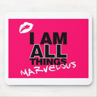 All Things Pink Mouse Pad