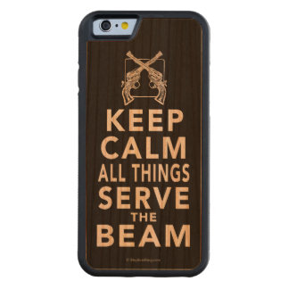 All Things Serve The Beam Carved® Cherry iPhone 6 Bumper Case
