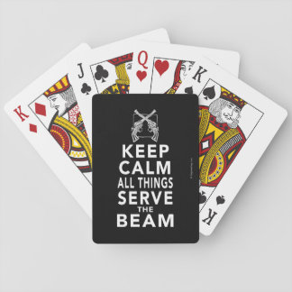 All Things Serve The Beam Playing Cards
