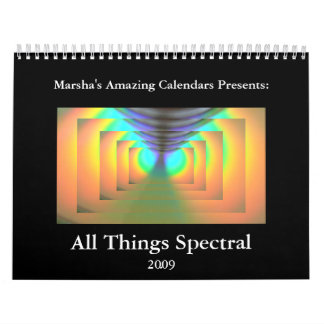 All Things Spectral 2009 Calendar
