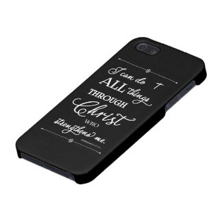 All Things Through Christ - Philippians 4:13 Cover For iPhone SE/5/5s