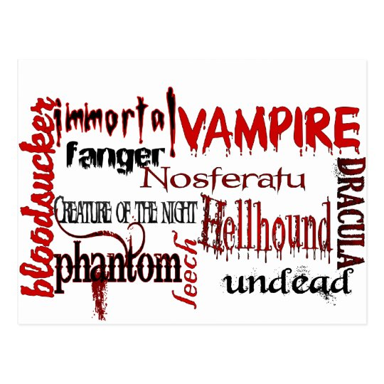 All things Vampire! Postcard
