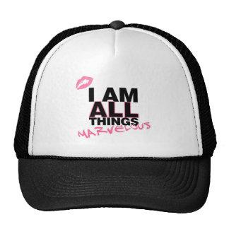 All Things White Trucker Hat