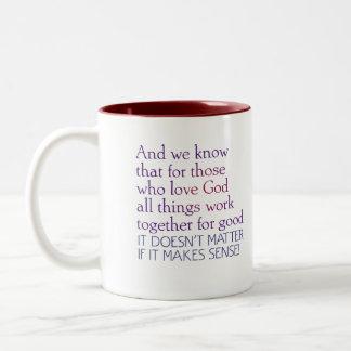 All Things Work For Good Mug