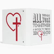 All Things Work Together 4 Good Inspirational Binder