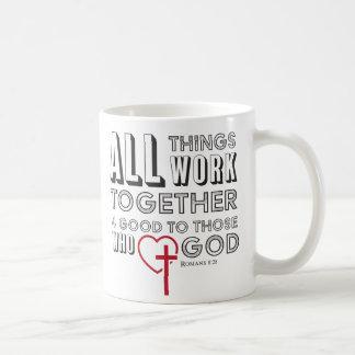 All Things Work Together 4 Good Inspirational Coffee Mug
