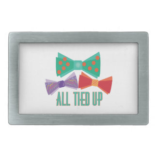 All Tied Up Belt Buckles